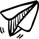 Paper airplane toy