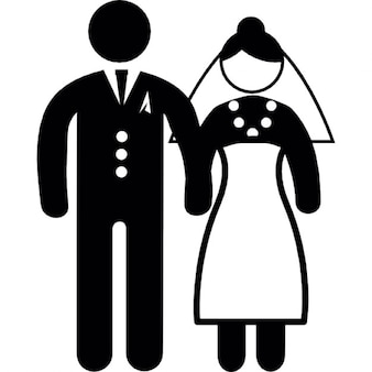 Personne couple mariage