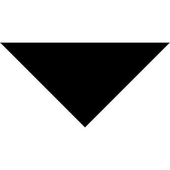 Pointe de la flèche vers le bas