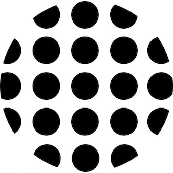 Points de forme circulaire
