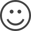 Smiley t l charger icons gratuitement - Smiley simple noir et blanc ...