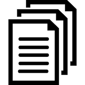 Symbole des documents