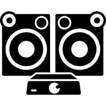 systeme audio t l charger icons gratuitement. Black Bedroom Furniture Sets. Home Design Ideas