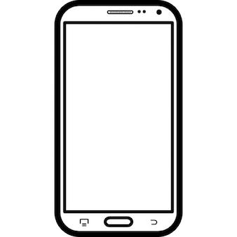 Téléphone mobile modèle populaire Samsung Galaxy Note 2