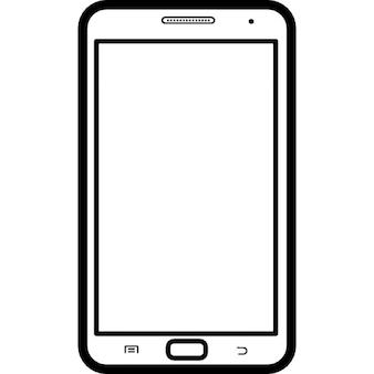 Téléphone mobile modèle populaire Samsung Galaxy Note