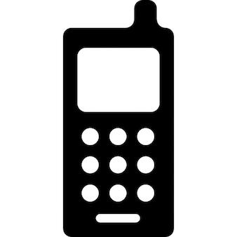 Téléphone portable avec antenne