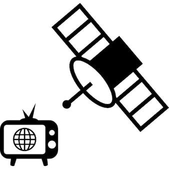 Transmission par satellite ios symbole 7 de l 39 interface - Tv satellite gratuit ...