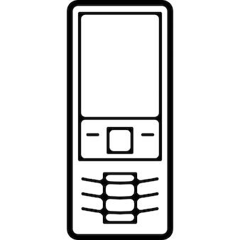 Variante de la téléphonie mobile avec des boutons aperçu