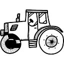Vieux camion rural