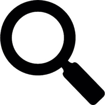 Zoom ou outil de recherche