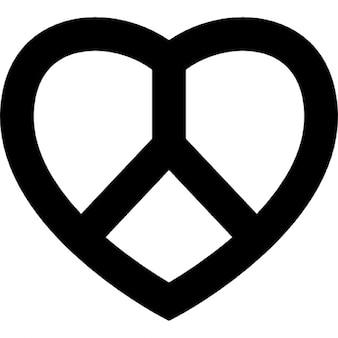 Amor y símbolo de la paz
