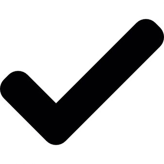 Aprobar, revisar símbolo