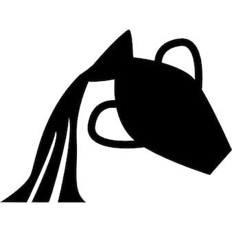 Aquarius símbolo contenedor de agua