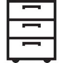 Muebles de cajones Archivo  Descargar Iconos gratis