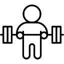 Barbell Levantamiento de pesas