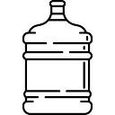 Botella grande de agua
