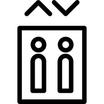 Botones de los ascensores