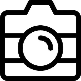 Cámara con perfil de la lente