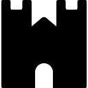 Castillo pared frontal