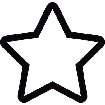 Cinco puntas estrella