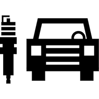 Coche y el émbolo, mecánica, servicio de