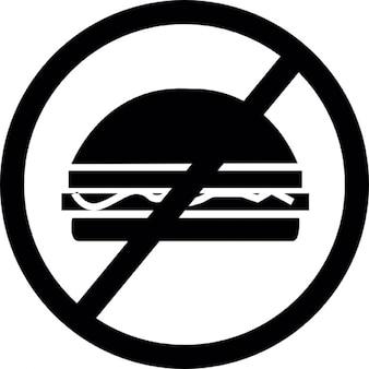 Comida chatarra prohibido