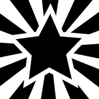 Concesión de la estrella fivepointed