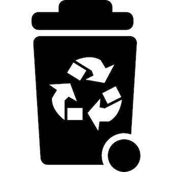 Contenedor de basura para reciclaje