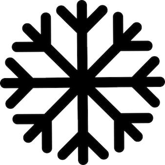 Copo de nieve forrado