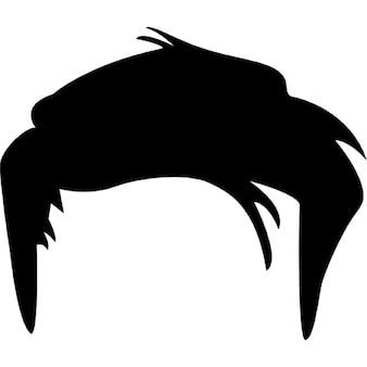 Corta la forma masculina del pelo