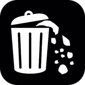 Desbordamiento de contenedores de basura