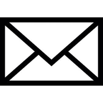 E-mail sobre, ios símbolo interfaz 7