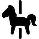 El caballo del carrusel
