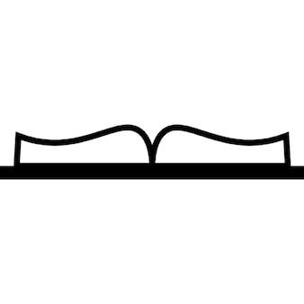 El libro abierto de la visión inferior