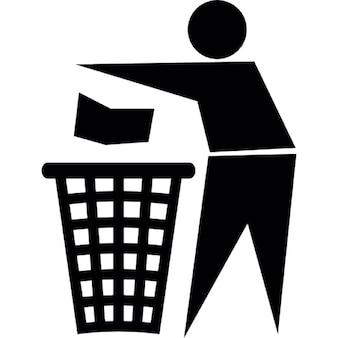 El símbolo de reciclaje