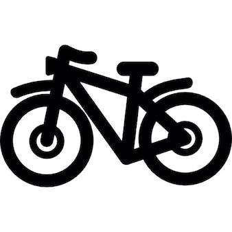 Esquema de bicicleta de montaña