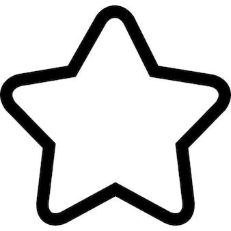 Esquema estrella de cinco puntos