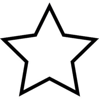 Estrella, ios 7 símbolo