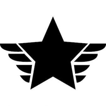 Fivepointed símbolo de premio estrella