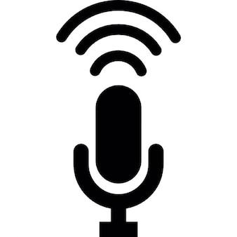 Grabación del micrófono de condensador