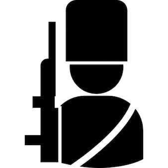 Guardias de palacio con la variante ametralladora