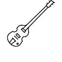Höfner 500/1 de la guitarra baja