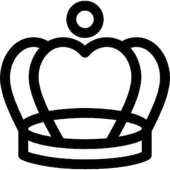 Imagen elegante corona de la vendimia