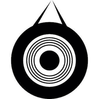 Instrumento de percusión gong
