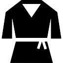 Las artes marciales uniforme