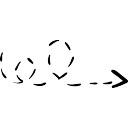Línea quebrada Scribble