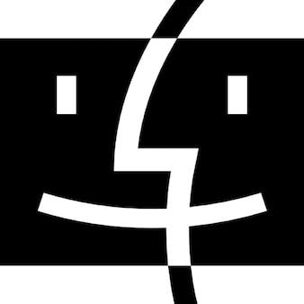 Logo del buscador con dos caras