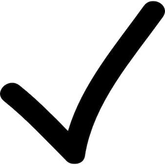 Marca de verificación del doodle