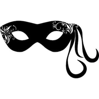 La máscara para la persona de las manos del cuerpo