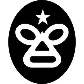 Máscara de luchador de México